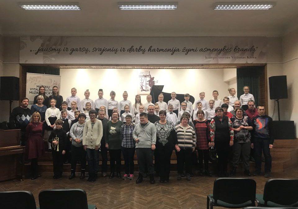 Išvyka į Mažeikių Vytauto Klovos muzikos mokyklą